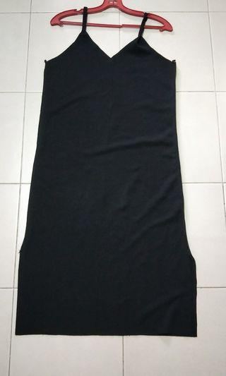 🚚 Black Slip Dress