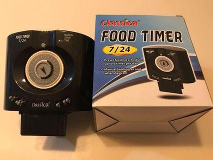 🚚 Fish food timer