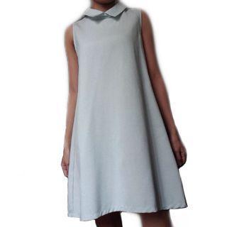 Baby Blue Sleeveless Dress