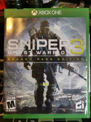 Xbox one Ghost warrior sniper 3