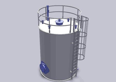 Pressure vessel drawing & analysis