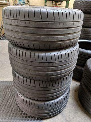 "245x40xR18"" Michelin Pilot Sport Tyres"