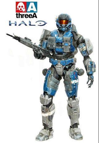 "Halo-Spartan-III a259 Commander Hot Carter 1/6 Action Figure 12"" ThreeA Toys not Predator Alien"