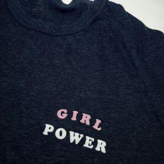girl power polo tee