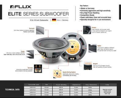 Help customer sell  Flux elite -12.4  Rm3+++ 全马只有3粒 Cod jb  全新德国flux公司的旗舰低音炮 音质清晰沉稳有力,,有兴趣请联系我