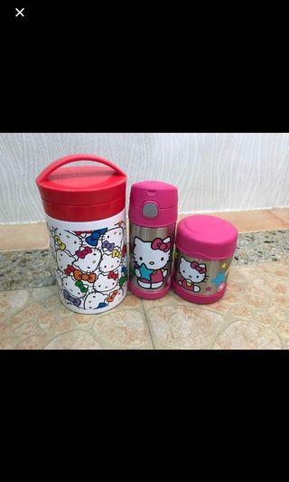 Hello Kitty Lunch Box and Thermo