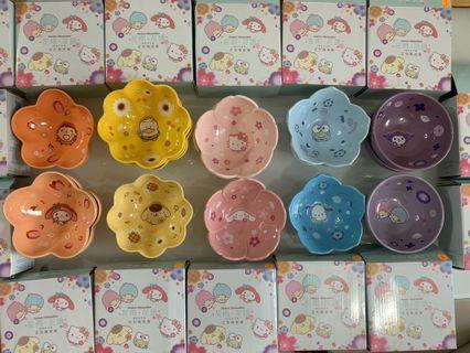 [7-11 x Sanrio] 花語•陶瓷碗(一套十隻)