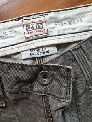 🚚 Levi's tab Twills jeans W34 L28