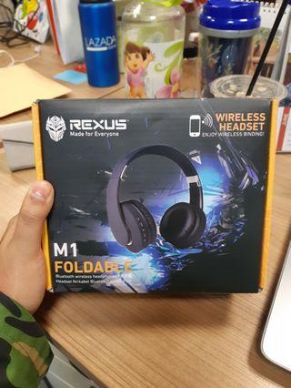 Headphones, Rexus, M1 FOLDABLE