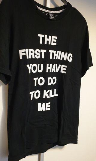 Sale Number (n)ine nine  stupid  black t shirt