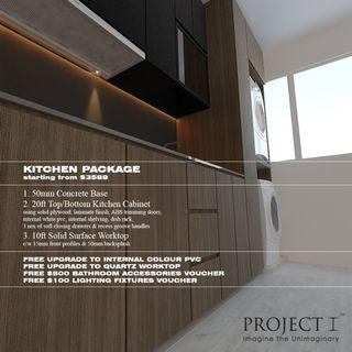 Kitchen Package at only $3588