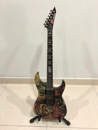 ESP LTD Slayer Seasons in the Abyss Electric Guitar