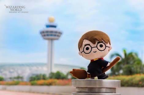Boneka Plush Toy Harry Potter Changi Limited Edition