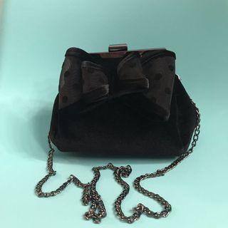 Clutch pesta sling bag bludru