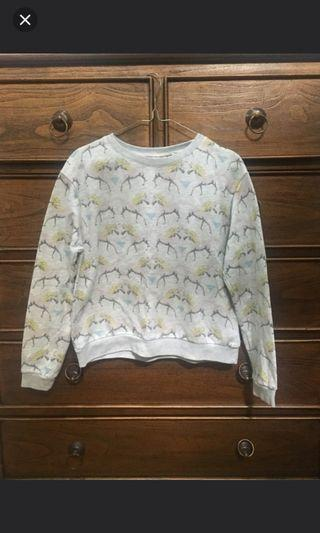 Pull and Bear Unicorn Sweater