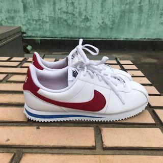 🚚 9.5成新 Nike 經典配色 皮革阿甘鞋 25cm