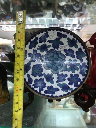 西方古老搪瓷碟