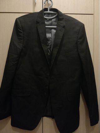 Black Blazer/Coat #GayaRaya