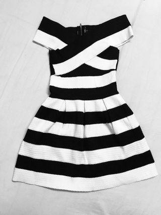 Off Shoulder Bandage Dress