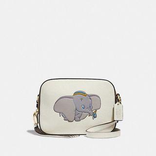 Authentic Coach 69252 Disney x Coach Camera Bag with Dumbo Sling Crossbody Bag