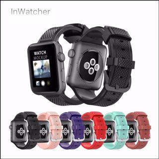 粗紋 Sport Band 運動錶帶 Apple Watch series 1 - 4/LTE Rough Sport Band