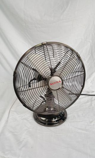 12 Inch Table Fan (Retro)(New motor 60 watts)