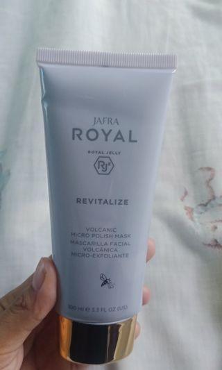 Royal Revitalize Volcanic Micro polish Mask