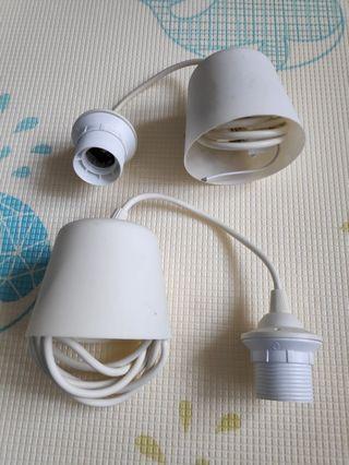 IKEA DIY 吊燈頭 x2