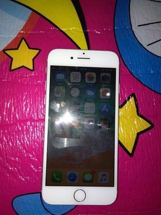 Iphone 7 32gb silver fullset normal semua