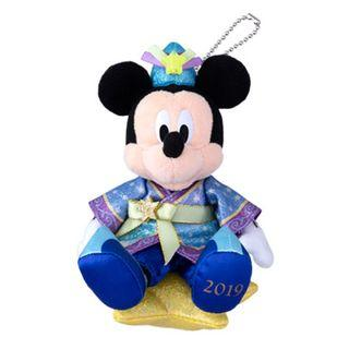 【訂購】( 帽子星星可夜光) Mickey公仔掛飾 - TDR ! 2019 七夕系列