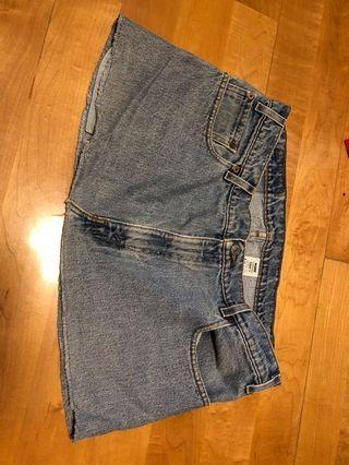 Levi's Denim Skirt L30 W36