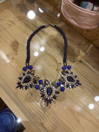 Kalung blue diamond