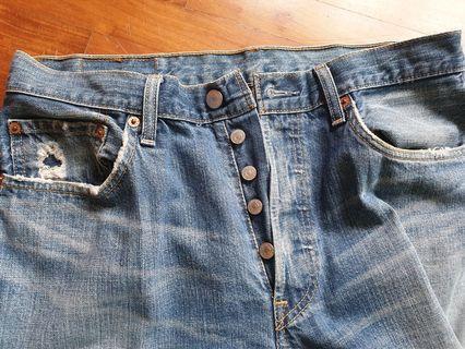 🚚 Levi's 501. Vintage pair! W33 L30