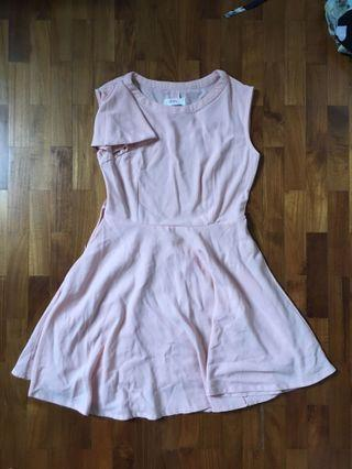 🚚 Salmon Pink Dress
