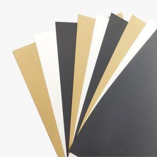 A4 A5 DIY Paper Card / Word Art Card / Invitation Card 350gsm