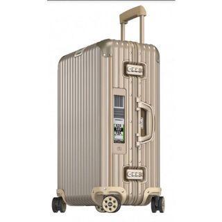 德國代購含運直送到家‼️Rimowa 鈦金 香檳金 鋁合金 30吋E-tag行李箱全新
