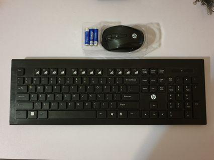 HP CS300 wireless mouse and keyboard