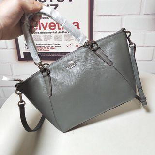 Coach Small Kelsey in pebble leather