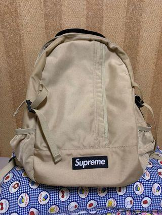 Supreme 44th 卡其後背包 backpack串標