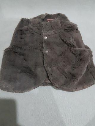 Baby toddler faux fur gilet vest coat 18-24months