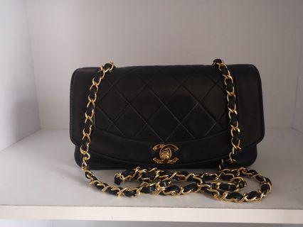 🚚 Authentic Chanel Diana Flap 9 ""