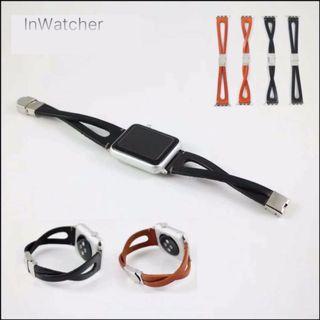 復古簡約交叉錶帶 Retro minimalist cross strapfor Apple Watch series 1 - 4/LTE 38/40 & 42/44mm