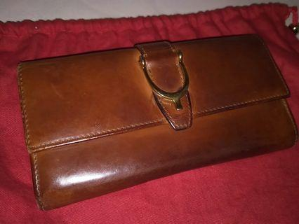 Authentic Gucci Continental Clutch Leather Wallet #MRTRaffles
