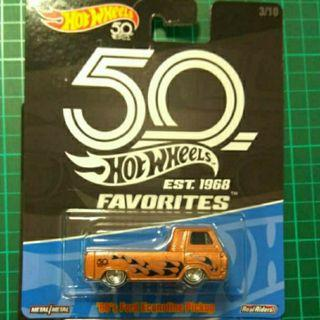 Hotwheels 50th Favorites Ford Econoline Pickup