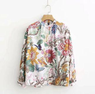 Floral Blouse Top