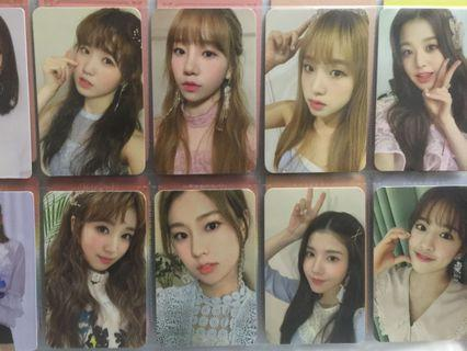 [WTS] IZONE IZ*ONE secret time photocards