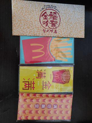 Sets of Red Packets