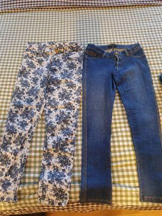 Branded Jean's. ZARA and Cabbage Patch
