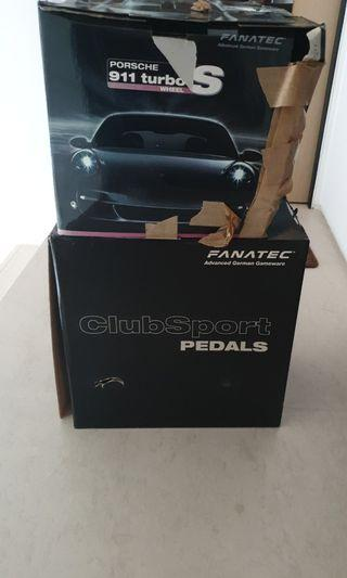 🚚 Fanatec Porsche Turbo S Clubsport Pedal
