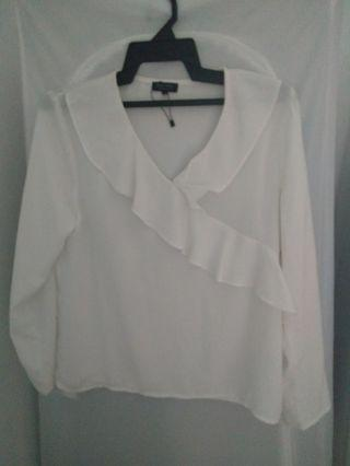 White Top Zalora